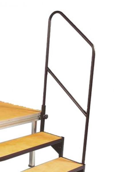 treppenhandlauf f r 3 und 4 stufige treppe podestbau. Black Bedroom Furniture Sets. Home Design Ideas